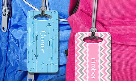 for a Personalised Kids' Bag Tag Don't Pay up to $59.96