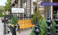 Edinburgh: 1 Night for Two with Breakfast or 2 Nights Plus Glass of Prosecco at Edinburgh Thistle Hotel