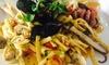 RistoArte - Vietri sul mare: Menu di mare con calice di vino per 2 o 4 persone al ristorante RistoArte a Vietri Sul Mare(sconto fino a 72%)