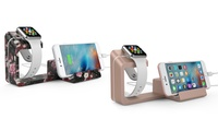 Element Works Dual Charging Stand for Apple Watch and Smartphones (1- or 2-Pack)