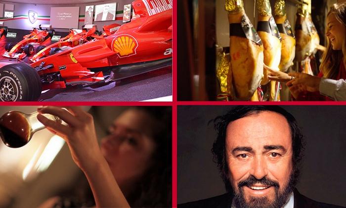 Mondo Ferrari: ingressi a 3 musei tra Modena e Maranello con degustazioni incluse e servizio navetta per la giornata