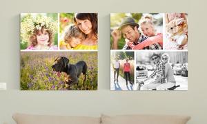 Toile collage au choix
