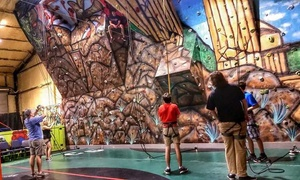X-Fusion Fitness & Family Center: Five Indoor Rock-Climbing Sessions with Equipment at X-Fusion Fitness & Family Center (67% Off)