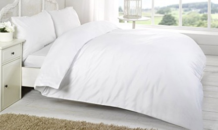 Plain Thermal Duvet Cover Set in Choice of Colour