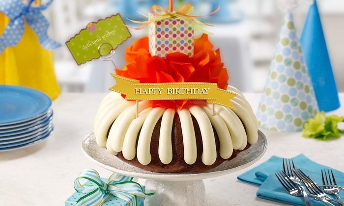Bundt Cakes Nothing Bundt Cakes Groupon