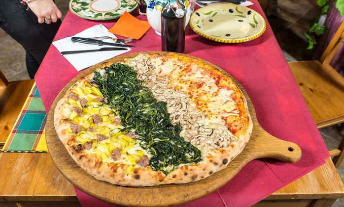 Menu pizza non stop e birra per 2, 4 o 6 persone all'Agriturismo La Mucca Ballerina (sconto fino a 56%)