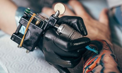 image for One- or Two-Hour Tattooing Session with Consultation at K9 Ink (Up to 72% Off)