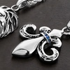 Men's Stainless Steel Rope Chain Pendant Necklace