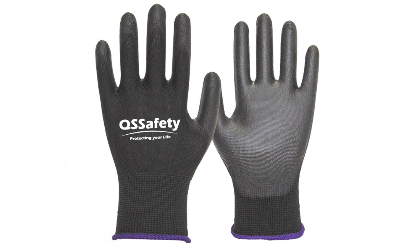 One, Two or Four Pairs of Wear-Resistant Industrial Work Gloves