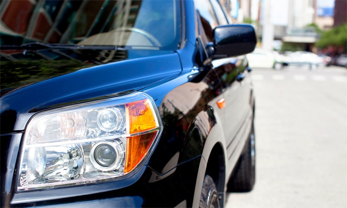 City Limousine - Boston: One-Way or Roundtrip SUV Service for Up to Six to and from Logan Airport from City Limousine (Up to 55% Off)