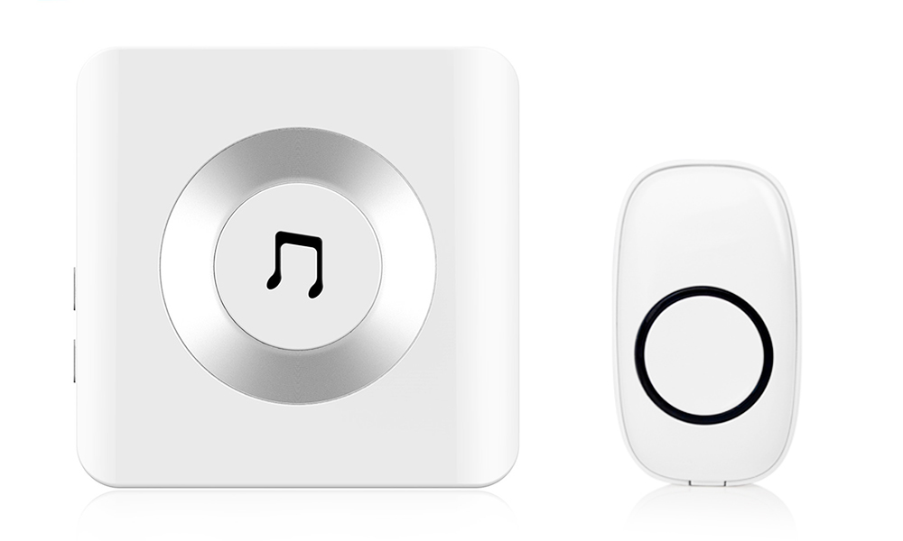 One or Two 52 Chime Wireless Doorbells with Built-in Mic From £11.99