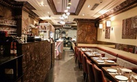 Six-Course Meal with a Glass of Wine for Up to Four at Al Basha (Up to 81% Off)