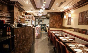 Al Basha: Six-Course Meal with a Glass of Wine for Up to Four at Al Basha (Up to 81% Off)