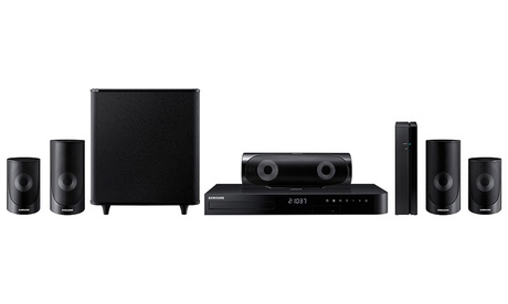 Samsung 1,000W 5.1-Channel 3D Blu-ray Home Theater System with Wireless Rear Speakers ba122a48-5d20-11e7-9ff8-002590604002