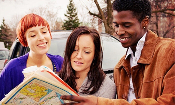 POGO Events - Multiple Locations: Urban Scavenger Hunt from POGO Events (50% Off). Nine Options Available.