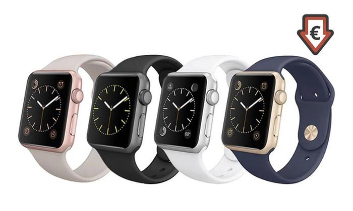 Apple Watch Sport 38 mm ou 42mm reconditionne par Apple  Garantie 1 an coloris au choix dès 239€ Livraison offerte