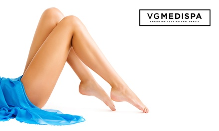 Six Sessions of Laser Hair Removal at VGmedispa, Nine Locations (Up to 92% Off) (Merchandising (UK))