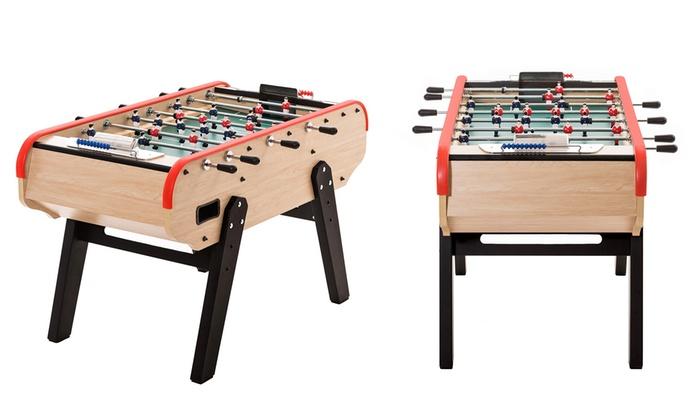 table de baby foot de bar deluxe groupon. Black Bedroom Furniture Sets. Home Design Ideas