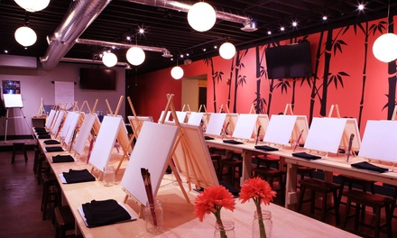 Up to 43% Off Painting Class at Bamboo Studio