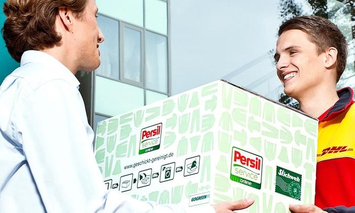 Persil Service Online - Merchandising (DE): Wertgutschein über bis zu 50 € anrechenbar auf den Persil Online-Reinigungsservice inkl. Versand