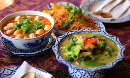 Thai Food for Two or Four at Syphay Restaurant Downtown (Up to 45% Off)