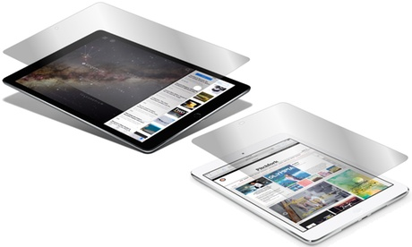 1 o 2 filtro de privacidad Zagg Privacy para iPad Mini, 2 y 3 Oferta en Groupon