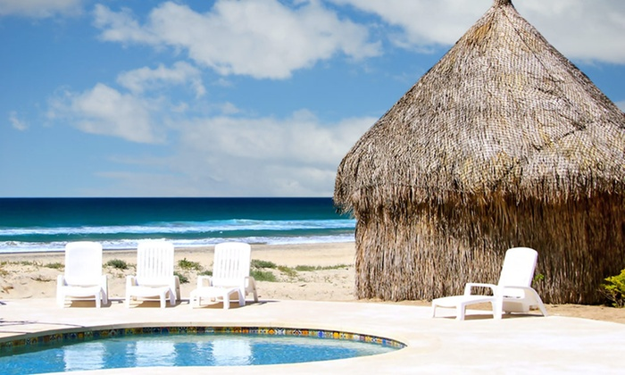 3-, 4-, 5-, or 6-Night Stay in a Cabana for Two at Mayan Village Resort in Mexico's Baja California Sur Deals for only $149 instead of $555