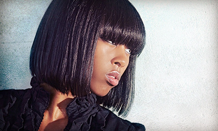 Ms. Roxy's Hair Boutique - Lewisville: Hairstyling Services at Ms. Roxy's Hair Boutique (Up to 64% Off). Four Options Available.