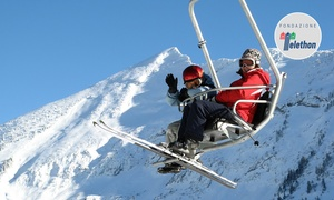 Presolana Monte Pora: Skipass giornaliero per il complesso Presolana Monte Pora con 30 piste e 15 impianti di risalita (sconto fino a 38%)
