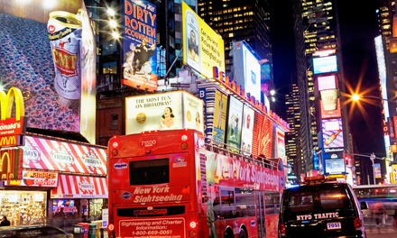 Double Decker Bus Tour and Ferry Boat Cruise Package for One or Two from CitySights NY (Up to 43%Off)