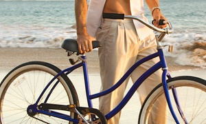 Paradise Rent-A-Car: Bike Rentals for One or Two from Paradise Rent-A-Car (Up to 64% Off). Three Options Available.