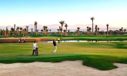 Golf à Marrakech: 1 à 3, 5 ou 7 nuits avec transferts, petit déj ou demi-pension à la Villa Catherine pour 1 à 2 pers