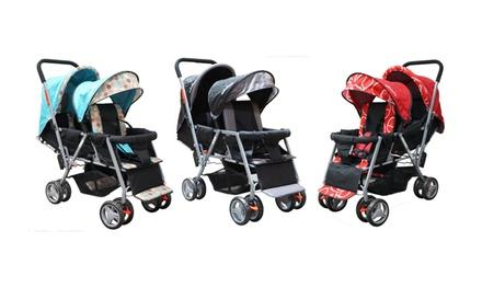 Adelina 2018 Urban Series Double Stroller.
