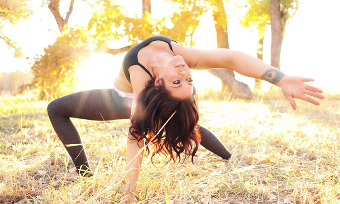 Blissful Spirits - Multiple Locations: $21 for 20 Hot Yoga, TRX, or Pilates Classes at Blissful Spirits ($180 Value)