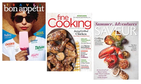 Saveur, Fine Cooking, or Bon Appétit Magazine Subscription (1-Year, Choose from Three Options) ef2572cf-823e-4627-9023-5cbd62addfd6