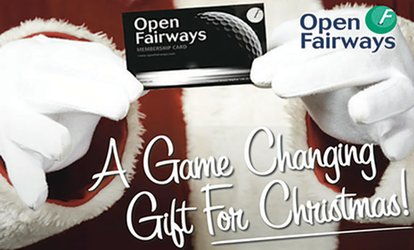 image for Gift 12- or 24-Month Golf Privilege Card Valid at 1,000+ Courses in UK and Ireland from Open Fairways (Up to 72% Off)