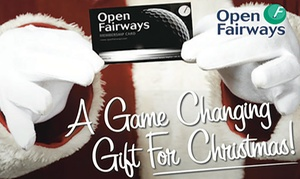 Open Fairways: Gift 12- or 24-Month Golf Privilege Card Valid at 1,000+ Courses in UK and Ireland from Open Fairways (Up to 72% Off)