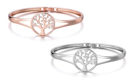 1 ou 2 bracelets arbre de vie de la marque Philip Jones ornés de cristaux de Swarovski®
