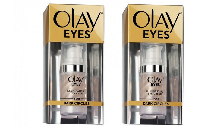 $29 for Two or $55 for Four Olay Eyes Illuminating Eye Creams for Dark  Circles (Don't Pay up to $159 96)