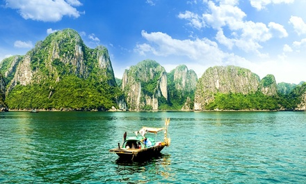 Central and North Vietnam: 9 Nights with Tours, Halong Cruise, Airport Transfers, Meals and 3* or 4* Accommodation*