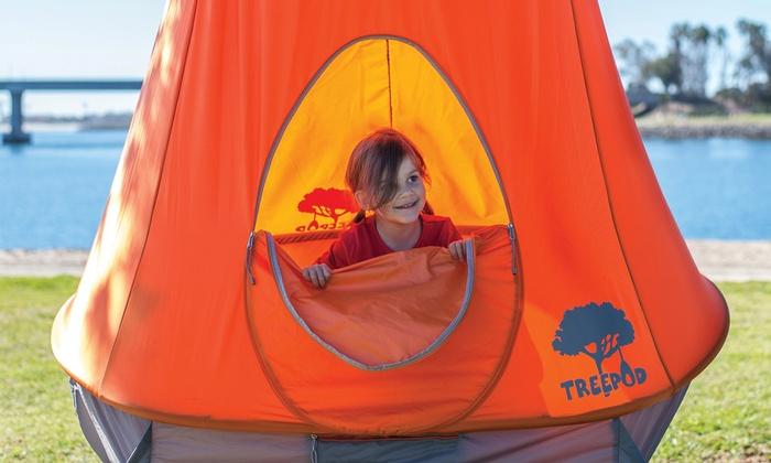 & Hanging TreePod Treehouse | Groupon
