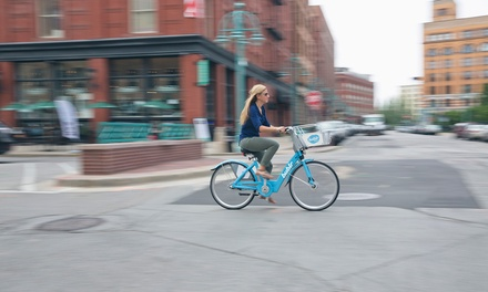 30-Days of Unlimited 60-Minute Bike Rentals for One, Two, or Four from Bublr Bikes (Up to 51% Off)