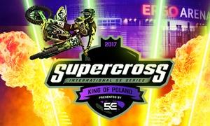 Supercross: King of Poland: Od 49 zł: bilet na imprezę Supercross: King of Poland – międzynarodowe zawody w supercrossie (do -37%)