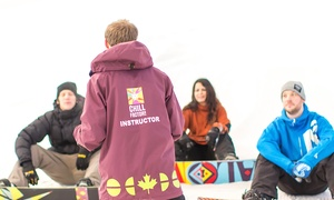 Chill Factore: Beginner Ski or Snowboard Lesson for One or Two at Chill Factore (Up to 61% Off)