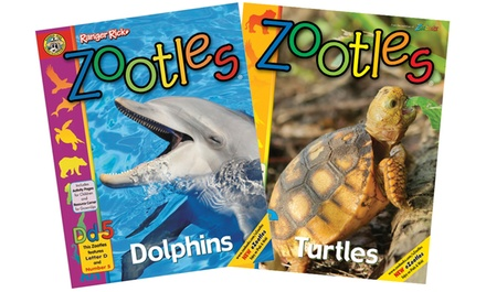 Zootles Magazine One or Two Year Subscriptions in Print or Digital (Up to 74% Off)