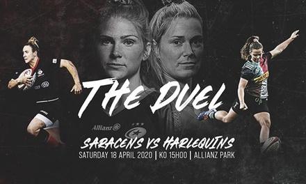 Women in Sport: Saracens vs Harlequins (Rugby)
