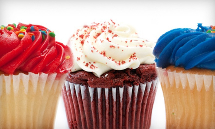 Sweet Perfection Bakery - Olathe: $9 for One Dozen Assorted Red, White, and Blue Cupcakes at Sweet Perfection Bakery in Olathe ($18 Value)