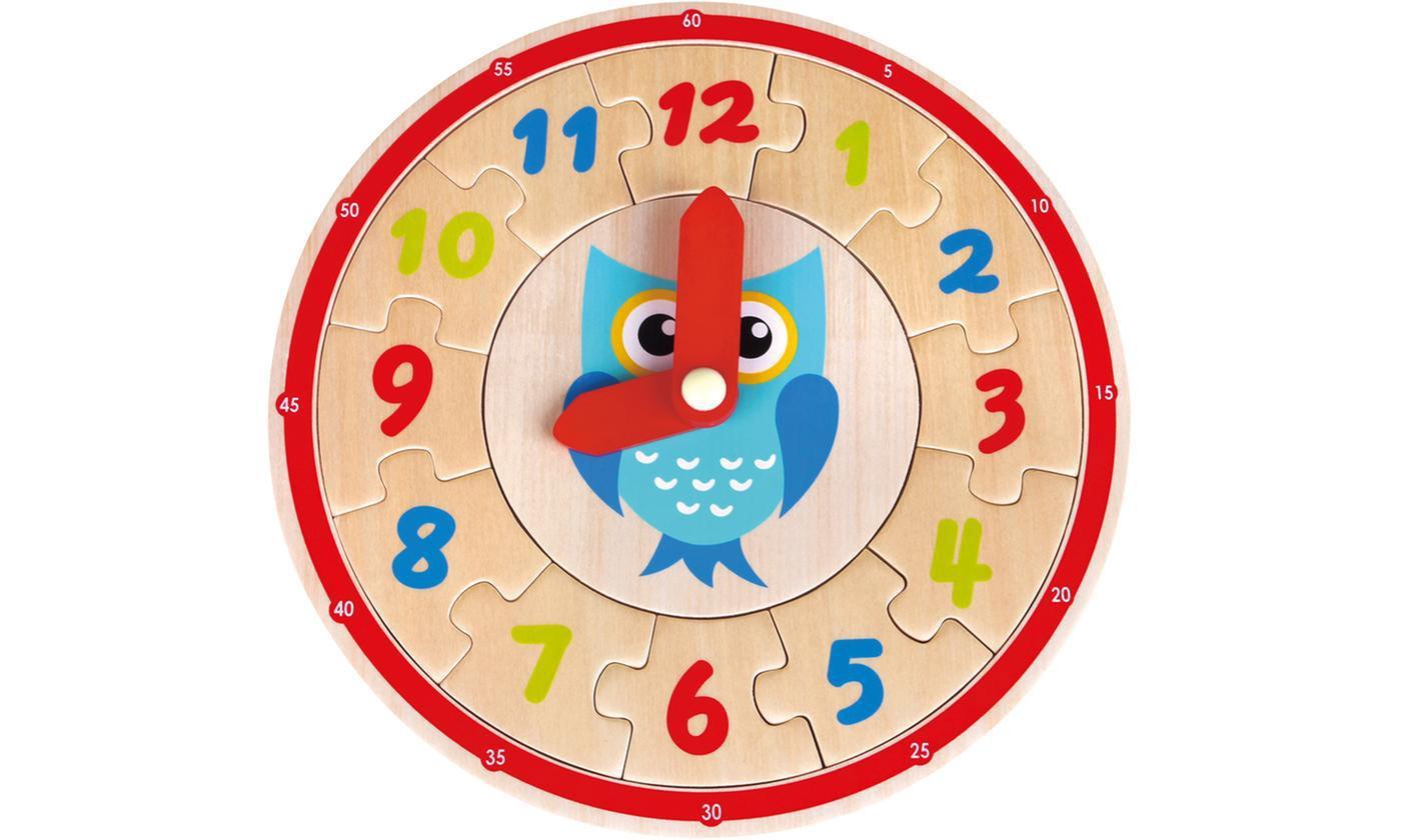 Lelin Wooden Learning Clock