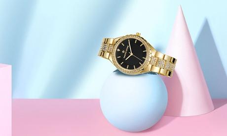 1 o 2 orologi da donna Timothy Stone con cristalli Swarovski® disponibili in vari modelli e con spedizione gratuita