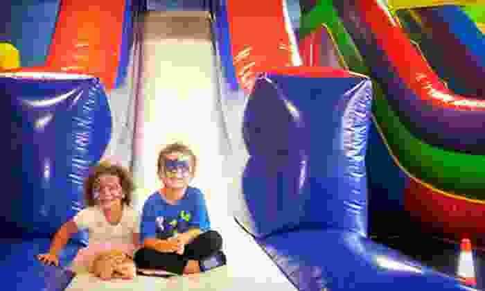 Jump Up N Bounce - Englewood: $29 for Five Open-Bounce Sessions at Jump Up N Bounce ($60 Value)